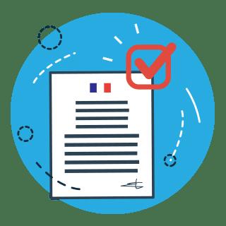 Illustration de menu pour : Effectuer une<br> demande d'AUT